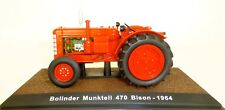 Tracteur Munktell 470 BM Bison 1964 rouge tracteur ATLAS 1:32 005 µ