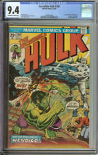 INCREDIBLE HULK #180 CGC 9.4 OW/WH PAGES // 1ST APPEARANCE OF WOLVERINE IN CAMEO