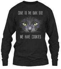 Cat-we Have Cookies - Come To The Dark Side We Gildan Long Sleeve Tee T-Shirt