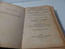 MANUEL TECHNIQUE DE L INFIRMIER DES ETABLISSEMENTS D ALIENES - 1931