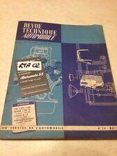Revue Technique Automobile Fiat 1300 1500 TS Neckar évolution RTA N° 241 éd.1966