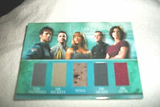 STARGATE ATLANTIS  SEASONS  3&4  TRADING CARD    5 Piece Costume Swatch 226/444