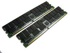 73P4129 4GB 2x 2GB PC2100 IBM eServer xSeries 382 445 450 455 Z Pro Memory RAM