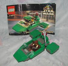 Lego Star Wars 7124 Flash Speeder Complete w/Instructions, 2 Subs - Episode 1