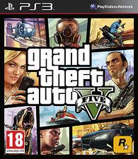 New Grand Theft Auto V 5 GTA 5 PS3 Sony Playstation 3 Rockstar UK PAL Game
