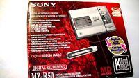 VINTAGE SONY MINIDISC WALKMAN RECORDER MODEL MZ-R50