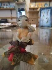 Pixie girasole LES ALPES ZAMBIASI elfo gnomo collezione originale porta fortuna