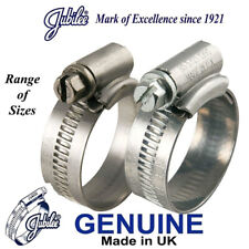 Genuine Jubilee Hose Clip Clamp Pipe Air Line Fuel Garden Water 9.5-70mm QTY 2