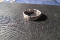 toller Kinderring Kleiner Unisex 925 Sterling Silber Ring Designer Wellen Klein