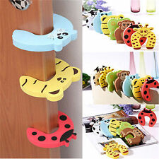 5Pcs Animal Kid Safety Jammers Stop Door Stopper Child Finger Protector Guard