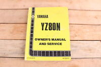Yamaha YZ80N YZ80 YZ 80 OEM Owners Manual and Service LIT-11626-04-79
