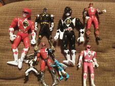 Power Rangers Ninja  Team Lot of 8 Action Figure Figures