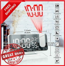 Radio Led Digital Smart Alarm Clock Electronic Desktop Clocks Usb Wake Up Clock