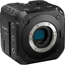 Panasonic LUMIX BGH1 10.2MP Cinema 4K Box Mirrorless Camera - Black (DC-BGH1)