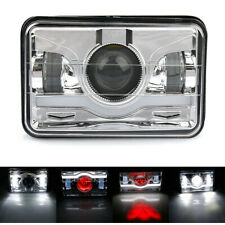 4''x6'' Sealed Crystal Hi/Lo Beam DRL LED Headlight Projector For Jeep Cherokee