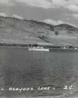 Postcard, 1953 Osoyoos Lake B.C. Canada RPPC Vintage P47