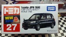 TOMICA #27 TOYOTA JPN TAXI 1/62 SCALE NEW IN BOX  [WYL]