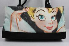 Disney Tink Tinkerbell Black Bag Medium Women Purse Handbag Peter Pan