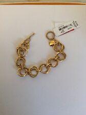 RALPH LAUREN Link Gold -Tone bracelet  $44 #434