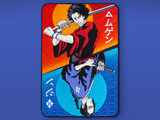 Samurai Champloo Anime Embroidery Back Patch, サムライチャンプル