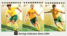 2007-08 Select A League Trading Card Socceroos Card Full Set (30)