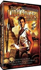 THE LIBRARIAN TRILOGY - 3 DVD Box Set QUEST FOR THE SPEAR / RETURN TO KING SOLOM