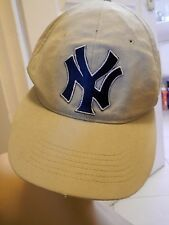 baseball cap tan cream stone khaki Nike Team youth new york yankees hat boys