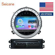 "7"" Car Stereo HD Touch Screen GPS Navigation Radio for BMW Mini Cooper 2006-2013"