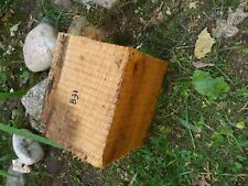 B31 Hickory Wood Turning Blank Bowl Block 7.5x7x6 Inches woodwork project pc