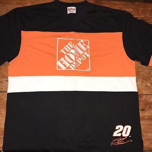 Tony Stewart Chase Authentics XL Racing Jersey Home Depot Heavy Duty