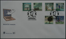 Unaddressed FDC World Of Invention (6 individual stamps)