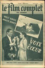 Le Film Complet 2456 - La voix du coeur, film allemand - 18 janvier 1941
