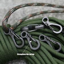 10x Heavy Duty Aluminum Edc Carabiner Key Chain Snap Hooks Clip Outdoor Camping