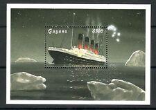 SELLOS TEMA TITANIC GUYANA 1998 HB 297
