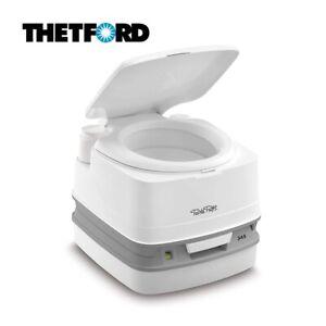 Thetford Porta Potti 345 Qube Portable Toilet Camping Caravan Motorhome Toilet