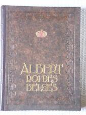 Albert, Roi des Belges par Georges Rency - 1934