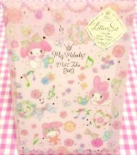 Clothes Pin x Sanrio My Melody Flower Clear File Letter Set / Japan Miki Takei