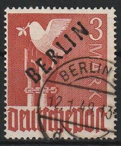 Y601) Berlin Nr. 19 Schwarzaufdruck gestempelt Stempel mißbräuchlich verwendet