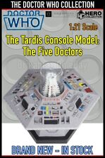 More details for eaglemoss doctor who collection the tardis console model: the five doctors - new