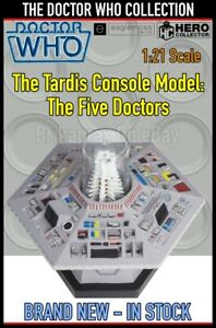 Eaglemoss Doctor Who Collection The Tardis Console Model: The Five Doctors - New