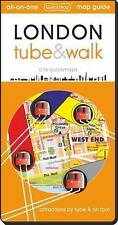 London Tube and Walk: Attractions by Tube & on Foot by Quickmap Ltd (Sheet...