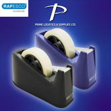 Rapesco Heavy Duty Tape Dispenser Desktop Office Sellotape Sticky Cellotape New