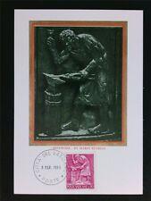 Vatican MK 1966 professioni fabbro Smith Maximum carta carte MAXIMUM CARD MC cm c6331