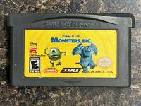 Monsters, Inc. (Nintendo Game Boy Advance, 2001)