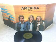 AMERICA - HOMECOMING - VINTAGE 1972 WARNER BROS. RECORDS GATEFOLD LP