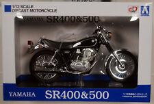 Yamaha SR 400 & 500 schwarz black 1:12 Aoshima 105870