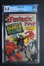 FANTASTIC FOUR #30 1st DIABLO sold soul to Mephisto 1964 Stan Lee KIRBY CGC 5.5