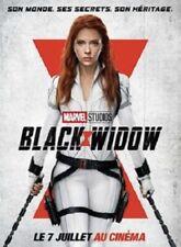 BLACK WIDOW -  Affiche cinema 40X60 - 120x160 Movie Poster