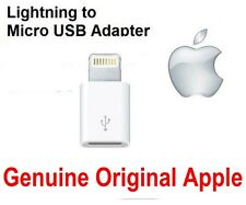 Genuine Original Lightning to Micro USB Adapter for Apple iPhone 5 5S 6S Pad Air