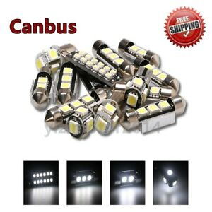11x canbus LED Interior Light Package For Volkswagen MK6 MKVI GTI GOLF 2010-up